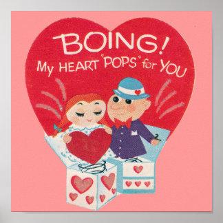 Vintage Valentines Day Print