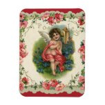Vintage Valentine's Day, Victorian Angel on Phone Flexible Magnets