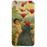 Vintage Valentine's Day, Victorian Angels Hearts Barely There iPhone 6 Plus Case