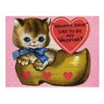 Vintage Valentine's for Kids Post Cards