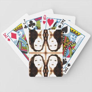 Vintage Vamp Poker Cards
