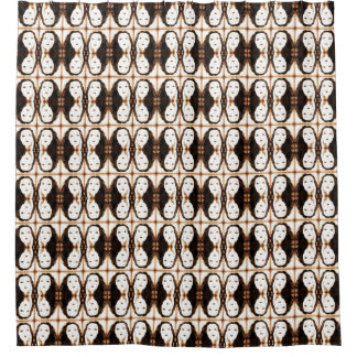 Vintage Vamp Shower Curtain