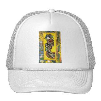 Vintage Van Gogh Geisha 1887 Trucker Hats