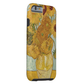 Vintage Van Gogh Sunflowers Tough iPhone 6 Case