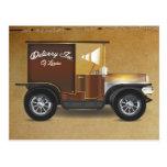 Vintage Van Postcard