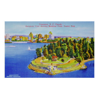 Vintage Vancouver Island Poster