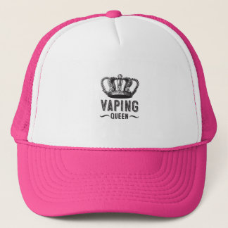 Vintage Vaping Queen Trucker Hat