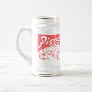 Vintage Vegan Pizza Beer Stein/Mug Beer Steins