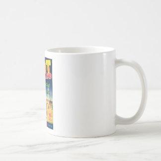 Vintage Vegetables Food Product Label Coffee Mugs
