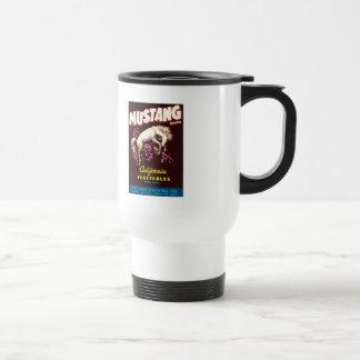 Vintage Vegetables Food Product Label Mug