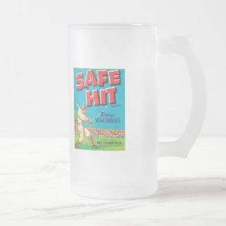 Vintage Vegetables Food Product Label Coffee Mug
