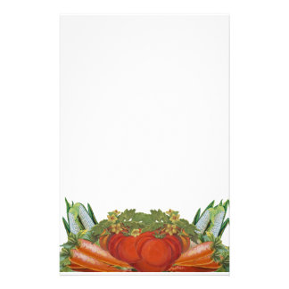 Vintage Vegetables Stationery