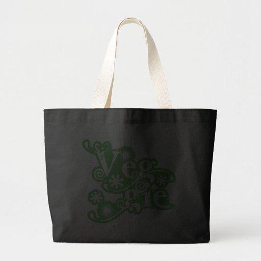 Vintage Veggie, For Vegetarians and Vegans Bag