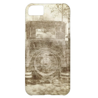 Vintage vehicle stopping for gas case for iPhone 5C
