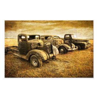 Vintage Vehicles Photo Print