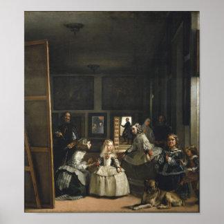 Vintage Velázquez Las Meninas Print