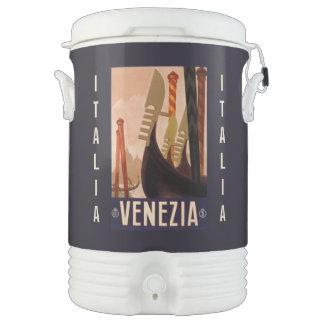 Vintage Venezia (Venice) custom beverage cooler