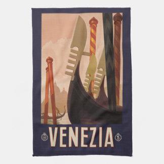 Vintage Venezia Venice Italy hand towel