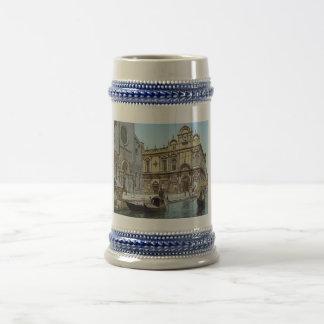 Vintage Venice 1890's Beer Stein