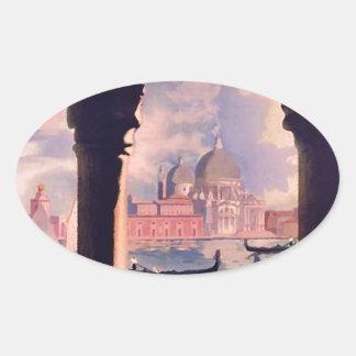 Vintage Venice Italy Travel Stickers