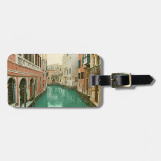 Vintage Venice luggage tag