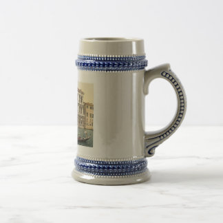 Vintage Venice Palazzo Pesaro 1890's Beer Stein