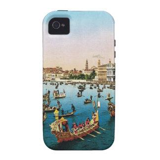 Vintage Venice, regatta iPhone 4/4S Cases