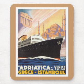 Vintage Venise Greece Istamboul Mouse Pad