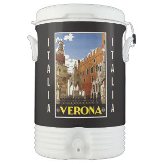Vintage Verona custom beverage cooler