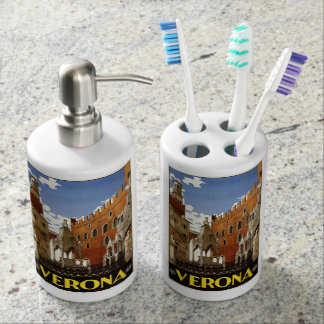 Vintage Verona Italy bathroom set