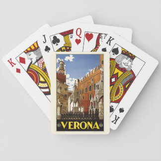 Vintage Verona Italy playing cards