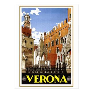 Vintage Verona Italy Post Card