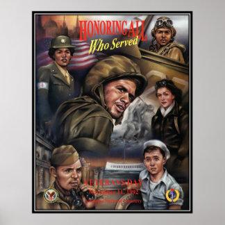 Vintage Veterans day, 1992  - Posters