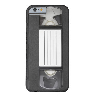 Vintage VHS Tape Customize Your Own Text Barely There iPhone 6 Case
