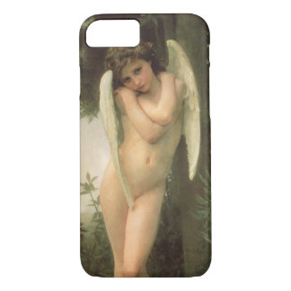Vintage Victorian Angel Art, Cupid by Bouguereau iPhone 7 Case