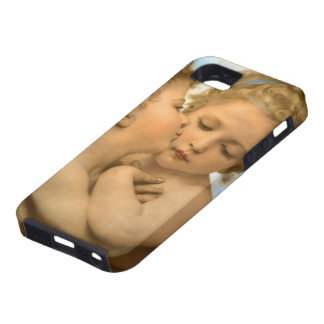 Vintage Victorian Angels, First Kiss by Bouguereau iPhone 5 Cover