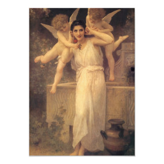 Vintage Victorian Angels, Youth by Bouguereau Card