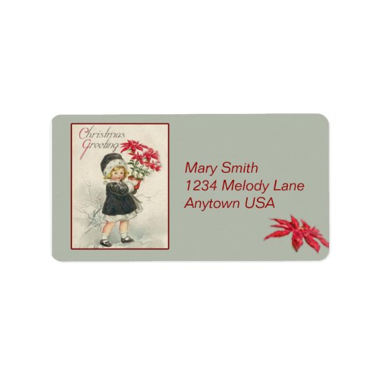 Vintage Victorian Art Address Label Stickers