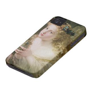Vintage Victorian Art, Beautiful Fairy Butterflies iPhone 4 Case-Mate Cases