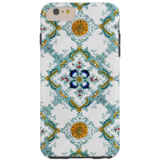 Vintage Victorian Art Pattern Tough iPhone 6 Plus Case