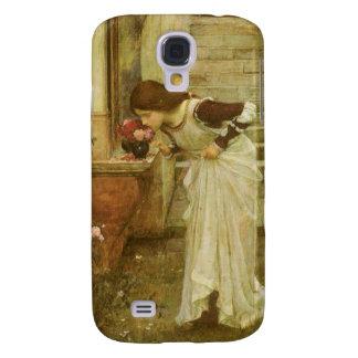 Vintage Victorian Art, The Shrine by JW Waterhouse Galaxy S4 Case