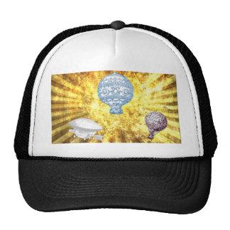 VINTAGE VICTORIAN BALLOONS IN GOLDEN HEAVEN CAP