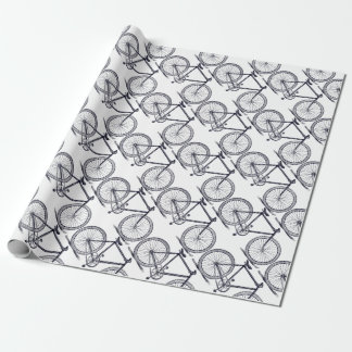 Vintage/Victorian Bicycle Wrapping Paper