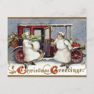 Vintage Victorian, c. 1912 Christmas Holiday Postcard