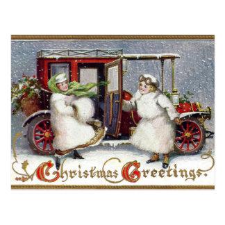Vintage Victorian, c. 1912 Christmas Postcard