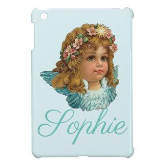 Vintage/Victorian Cherubine/Angel Personnalised iPad Mini Cover