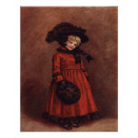 Vintage Victorian Child All Dressed Up Art Print