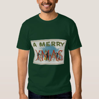 Vintage Victorian Christmas, A Merry Xmas Party Shirts