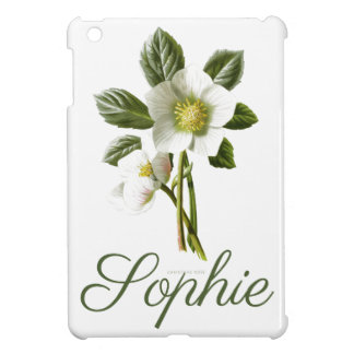 Vintage/Victorian Christmas Rose Personnalised Cover For The iPad Mini