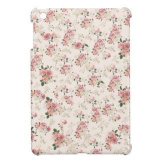 Vintage Victorian Cottage Rose Case Cover For The iPad Mini